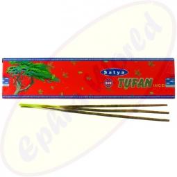 Satya Tufan indische Flora Räucherstäbchen 20g