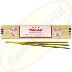 Satya Vanilla indische Masala Räucherstäbchen