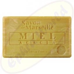 Le Chatelard 1802 Savon de Marseille Pflegeseife 100g Honig & Akazie