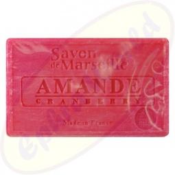 Le Chatelard 1802 Savon de Marseille Pflegeseife 100g Mandel & Cranberry