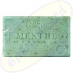 Le Chatelard 1802 Savon de Marseille Pflegeseife 100g Minze & Minzeblätter