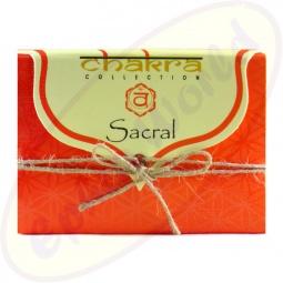 Song Of India Chakra Sacral Kräuterseife 100g