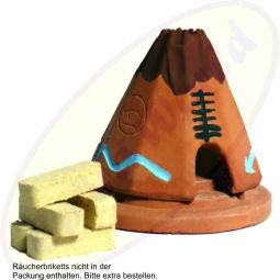 Incienso De Santa Fe South-West Style TeePee - Tipi Räucheröfchen Keramik - Incienso De Santa Fe