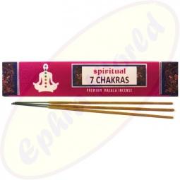 Spiritual 7 Chakras Masala Räucherstäbchen
