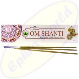 Stamford Goloka Om Shanti indische Masala Räucherstäbchen