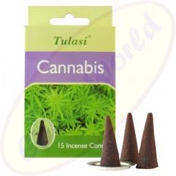 Tulasi Cannabis indische Räucherkegel