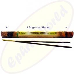 Tulasi Frankincense & Myrrh XL indische Räucherstäbchen