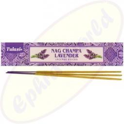 Tulasi Nag Champa Lavender Masala Räucherstäbchen