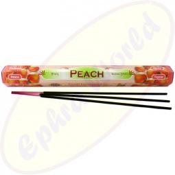 Tulasi Peach indische Räucherstäbchen