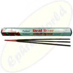 Tulasi Real Rose indische Räucherstäbchen