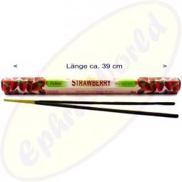 Tulasi Strawberry indische XL Räucherstäbchen
