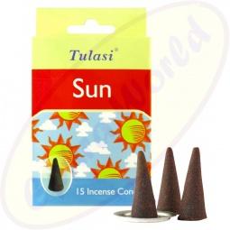 Tulasi Sun indische Räucherkegel
