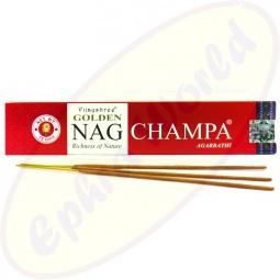 Vijayshree Golden Nag Champa indische Masala Räucherstäbchen