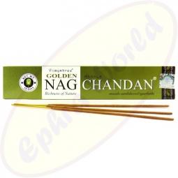 Vijayshree Golden Nag Chandan indische Masala Räucherstäbchen