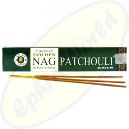 Vijayshree Golden Nag Patchouli indische Masala Räucherstäbchen