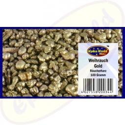 Weihrauch Gold Räucherharz 100g