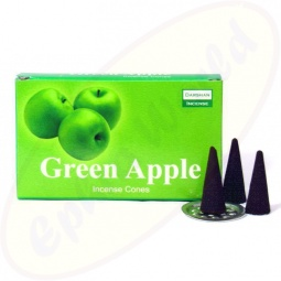 Darshan Green Apple Räucherkegel - Räucherkerzen