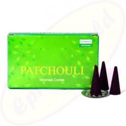Darshan Patchouli indische Räucherkegel