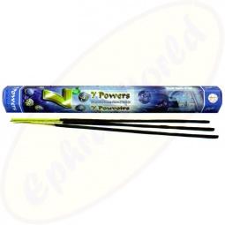 Flute 7 Powers indische Räucherstäbchen