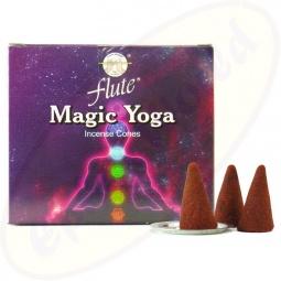 Flute Brand Magic Yoga indische Räucherkegel