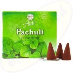 Flute Brand Patchouli indische Räucherkegel