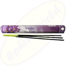 Flute Brand Violet indische Räucherstäbchen