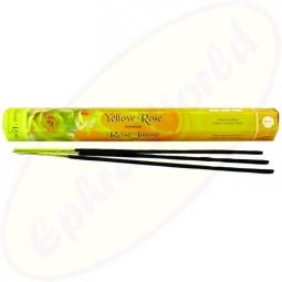 Flute Yellow Rose indische Räucherstäbchen