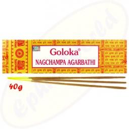 Goloka Nagchampa 40g Masala Räucherstäbchen