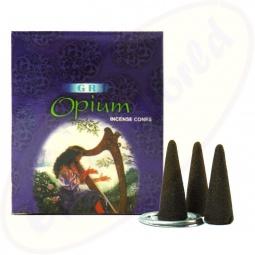 GR International Opium indische Räucherkegel