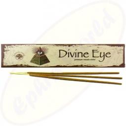 Green Tree Divine Eye indische Masala Räucherstäbchen