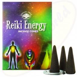 Green Tree Räucherkegel Reiki Energy