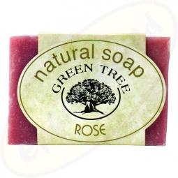 Green Tree Rose Pflegeseife 100g