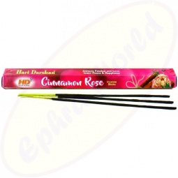 Hari Darshan Cinnamon Rose indische Räucherstäbchen