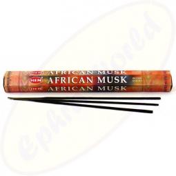 HEM African Musk indische Räucherstäbchen