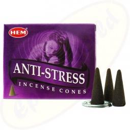 HEM Anti Stress indische Räucherkegel