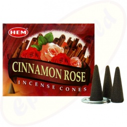 HEM Cinnamon indische Rose Räucherkegel