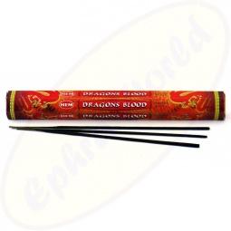 HEM Dragons Blood Red indische Räucherstäbchen