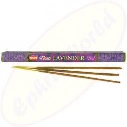 HEM Flora Lavender indische Masala Räucherstäbchen