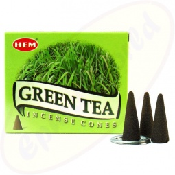 HEM Green Tea Räucherkegel