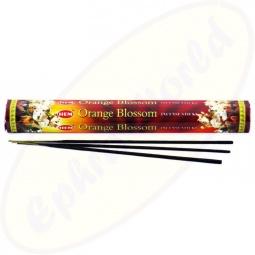 HEM Orange Blossom indische Räucherstäbchen
