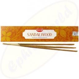 HEM Sandalwood Natural Premium Masala Räucherstäbchen