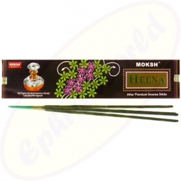 Moksh Heena Premium Flora Masala Räucherstäbchen