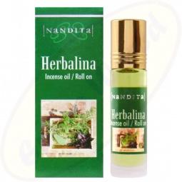 Nandita Herbalina Incense Oil - Parfüm Roll On