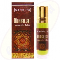 Nandita Mukhallat Incense Oil - Parfüm Roll On