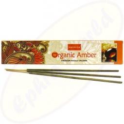 Nandita Organic Amber Premium Masala Räucherstäbchen