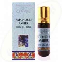 Nandita Patchouli Amber Incense Oil - Parfüm Roll on