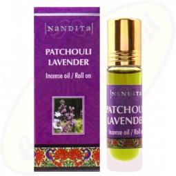 Nandita Patchouli Lavender Incense Oil - Parfüm Roll On