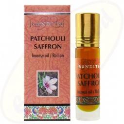Nandita Patchouli Saffron Incense Oil - Parfüm Roll On