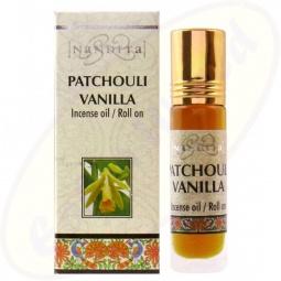 Nandita Patchouli Vanilla Incense Oil - Parfüm Roll On