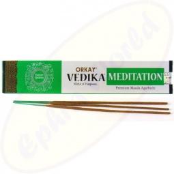 Orkay Vedika Meditation Masala Räucherstäbchen